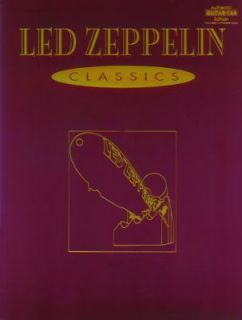 Classics Authentic Guitar TAB by Led Zeppelin 1993, Paperback