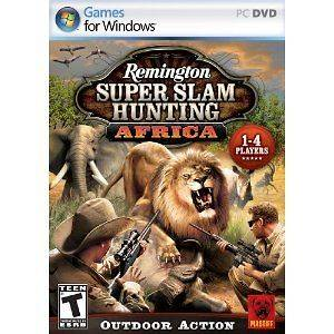 Super Slam HUNTING AFRICA Big Game Hunter PC Game for Windows XP 7 NEW