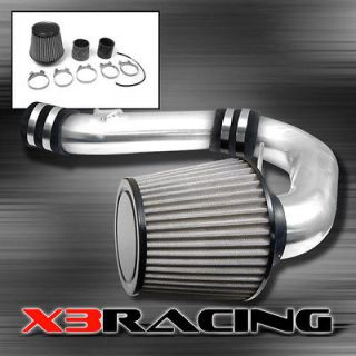 WRX POLISHED COLD AIR INTAKE INDUCTION + STAINLESS FILTER SYSTEM