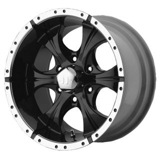 17x9 Helo Maxx Black Wheel/Rim(s) 6x139.7 6 139.7 6x5.5 17 9