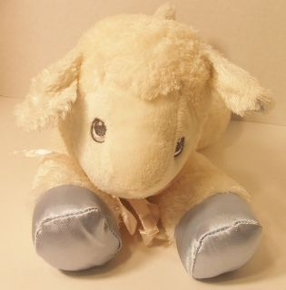 Aurora Baby Lamb Blue & White Security Lamb /Huggy Buddy Lamb Aurora