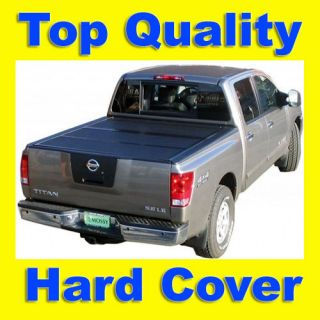 Solid Tri Fold Hard Tonneau/Tonno Bed Cover 09 12 Dodge Ram 1500 Crew