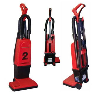 HD2 Heavy Duty Upright Commercial Vacuum Cleaner Uses Electrolux Bags