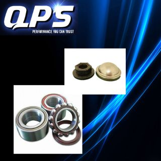 Ford Focus Rear Wheel Bearing + Hub Nut + Cap, 98 04
