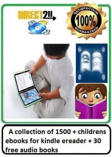collection of 1500 + childrens ebooks for kindle ereader + 30 free