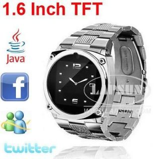 TFT HD Touch Screen Unlocked Cell Phone Watch Camera DVR JAVA