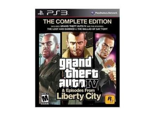 Grand Theft Auto IV Complete Playstation3 Game ROCKSTAR