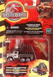 Jurassic Park 3 Transport W/Capture Cage and Dimetradon