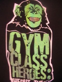 GYM CLASS HEROS GENEVA NEW YORK RAP ROCK BAND SHIRT FU BACK IN FUN