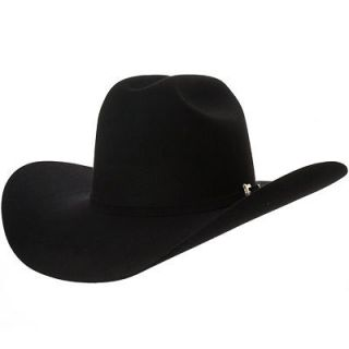 Resistol Black Gold 20X Fur Black Western Cowboy Hat
