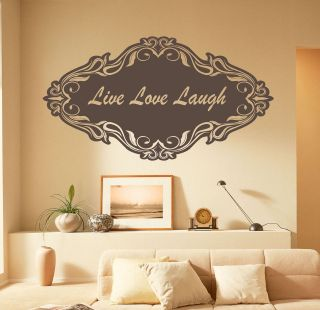 live laugh love metal wall decor in Wall Sculptures