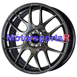 XXR 530 Flat Black Wheels Rims Concave 09 chrysler PT cruiser Sebring