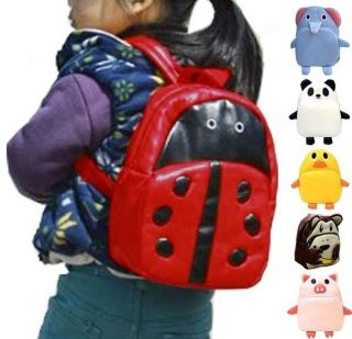Schoolbag Animal Zoo Book Handbag Child Toddler Kids Boys Girls