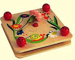 LARGE FLOWER PRESS CRAFT TOY by U WOOD WOODEN TOYS