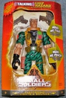 Small Soldiers 11 Talking Chip Hazard punching action figure