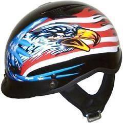 american flag motorcycle helmet in  Motors