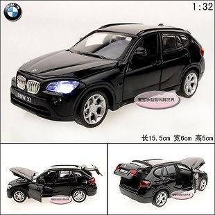 32 BMW X1 Alloy Diecast Car Model Toy Gift With Sound and Light