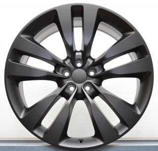 Charger 2012 SRT8 Satin Black 300C Magnum Challenger Wheels Rims Set