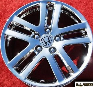 SET OF 4 NEW 17 HONDA ACCORD OEM CHROME WHEELS RIMS ODYSSEY CR V