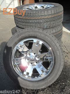 20 GMC Yukon Sierra Brand New Factory Style Chrome Wheels GoodYear