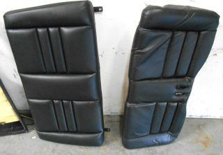 FORD MUSTANG GT CONVERTIBLE REAR PASSENGER BACK SEAT BLACK LEATHER 94