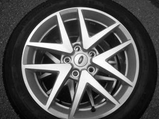 17 Ford Fusion OEM Wheels and Tires 80 90% Tread
