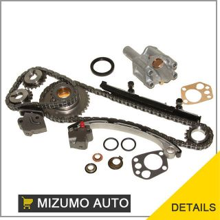 98 04 2.4L Nissan Xterra Frontier DOHC KA24DE Timing Chain Kit Oil
