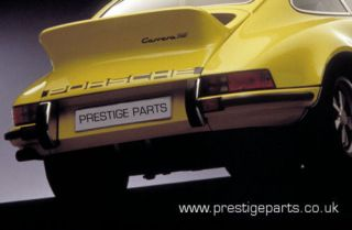 PORSCHE 911 CARRERA ENGINE LID DECAL   BLACK