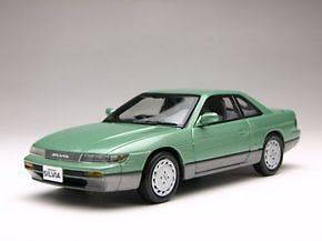 NISSAN SILVIA GREEN (S13) 1/43 KYOSHO DIECAST MODEL CAR