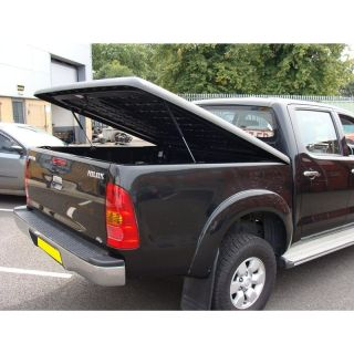 TOYOTA HI LUX 05+ HARD TONNEAU COVER LOCKABLE BED COVER HARD TOP