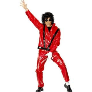 Adults Michael Jackson Thriller Fancy Dress Costume