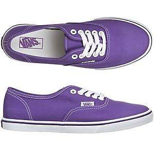 NIB Vans Authentic Lo Pro Royal Purple True White US Men 8.5 / US