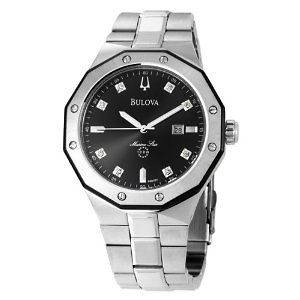 bulova mens marine star watch