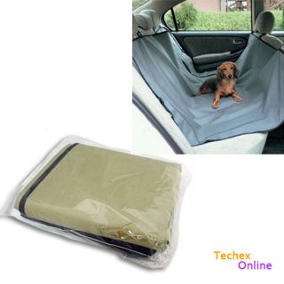 Brand New Pet Dog Car Back Seat Cover Pet Mat Blanket Hammock Cushion
