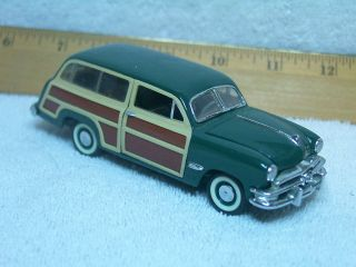 Franklin Mint 1/43 1950 FORD woody woodie wagon As Pictured