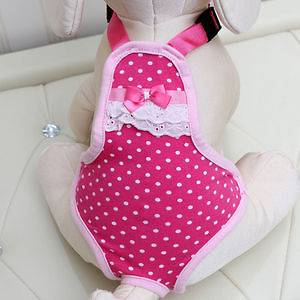 Hyundai Hmall korea new pet dog cat pink Velcro cotton diaper