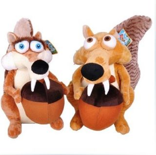 ★ Scrat & Scratte ★ Movie The Ice Age 4 Soft Toy Plush Doll
