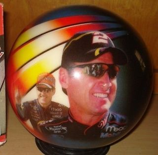 Brunswick Viz A Ball Nascar Rusty Wallace Racing Bowling Ball 16 LBS