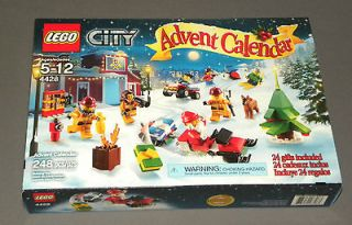 Lego City 4428 Advent Calendar 248 Pieces Ages 5 12 24 Gifts