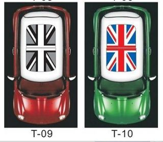 MINI COOPER Car Sun Roof British Flag Street Art Graffit Graphic