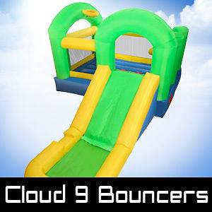 Bounce House Inflatable Bouncer Water Slide Moonwalk Jump Bouncy