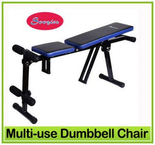 New Multi use Dumbbell Chair Situp Bench workout Exercise BICEPS