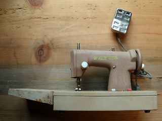 Signature Junior Sewing Machine Used for Mending or as Toy   USED