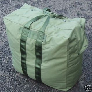 NEW   Large Olive Green US Issue Flight Bag Holdall
