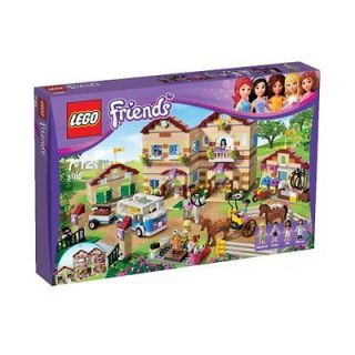 LEGO Friends 3185 Summer Riding Camp With Emma & Stephanie NEW