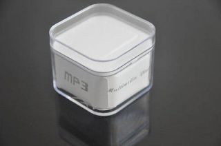 Multimedia  music player USB Flash Disk Transparent Box Case Gift