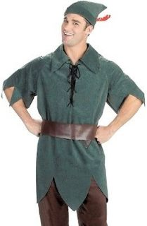 Mens Costume Green Disney Peter Pan Storybook Outfit