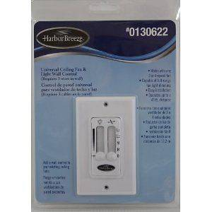 Newly listed HARBOR BREEZE UNIVERSAL CEILING FAN & LIGHT WALL CONTROL