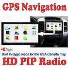 In Dash GPS Radio 7 2 DIN Car Stereo DVD Player Dual Zone Ipod TV BT