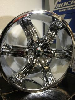 22 Inch Chrome Versante Wheels Rims GMC Yukon Denali Chevrolet